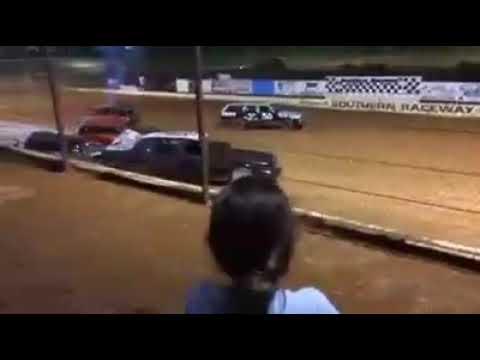Southern raceway demolition derby 2014