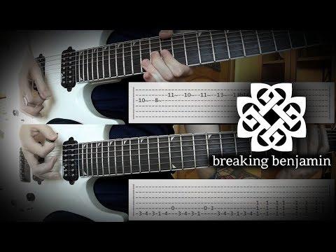 Breaking Benjamin  Psycho Guitar Tutorial wTabs