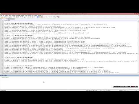 Darcvigilante - Premade pickit lists from my video/Nipchecker link