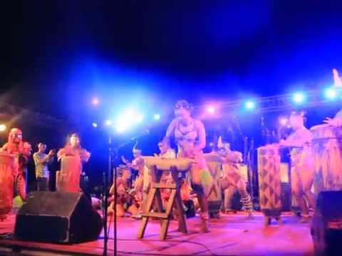 Groupe Ballet Loningisa (Djeck Dance) au Festival Mbonda Elela 3e Edition