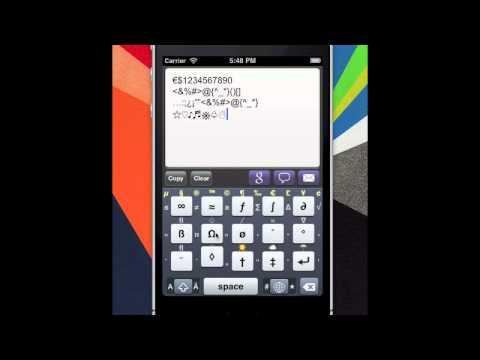 MovingKey : Turkish Big Finger & Diacritic Keyboard App for Andorid & iPhone