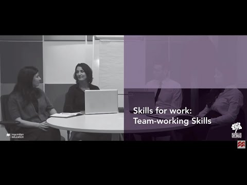 Skills for Work: Team-working Skills