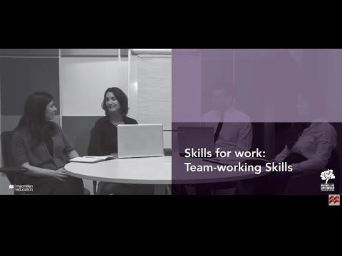 Skills for Work: Team-working Skills