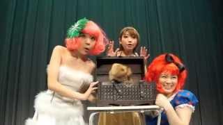 女性マジシャンBunnyHip Magic Show バニーヒップ マジックショー
