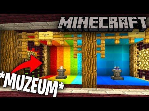 OTWORZYŁEM *MUZEUM* - Minecraft #31