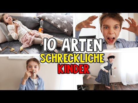 10 Arten - Die SCHLIMMSTEN Kinder der WELT! Lulu & Leon - Family and Fun