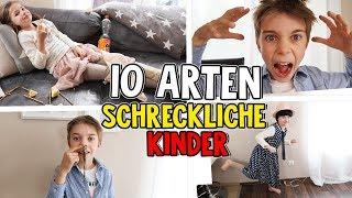 10 Arten - Die SCHLIMMSTEN Kinder der WELT! Lulu & Leon - Family and Fun