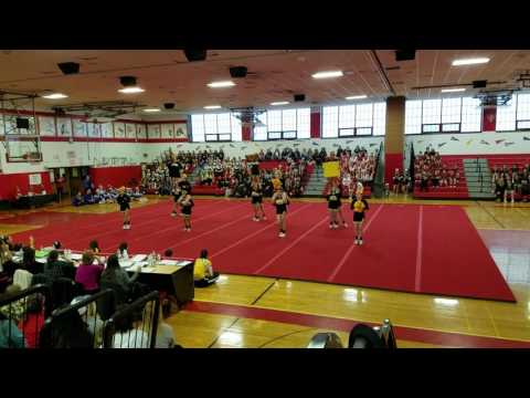 Sachem North @ Freeport Cheer competition 2017