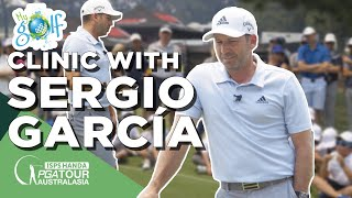 MyGolf Clinic with Sergio García