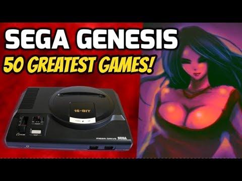 Top 50 Greatest Sega Genesis/Megadrive Games Of All Time!-Retro Gaming