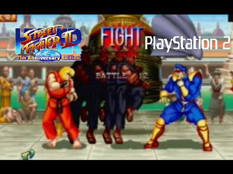 Hyper Street Fighter Ii The Anniversary Edition Playthrough Ps2