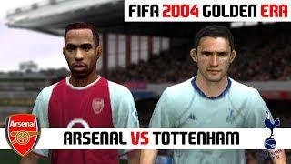 FIFA 2004 / Arsenal vs Tottenham Hotspur / PC Gameplay HD