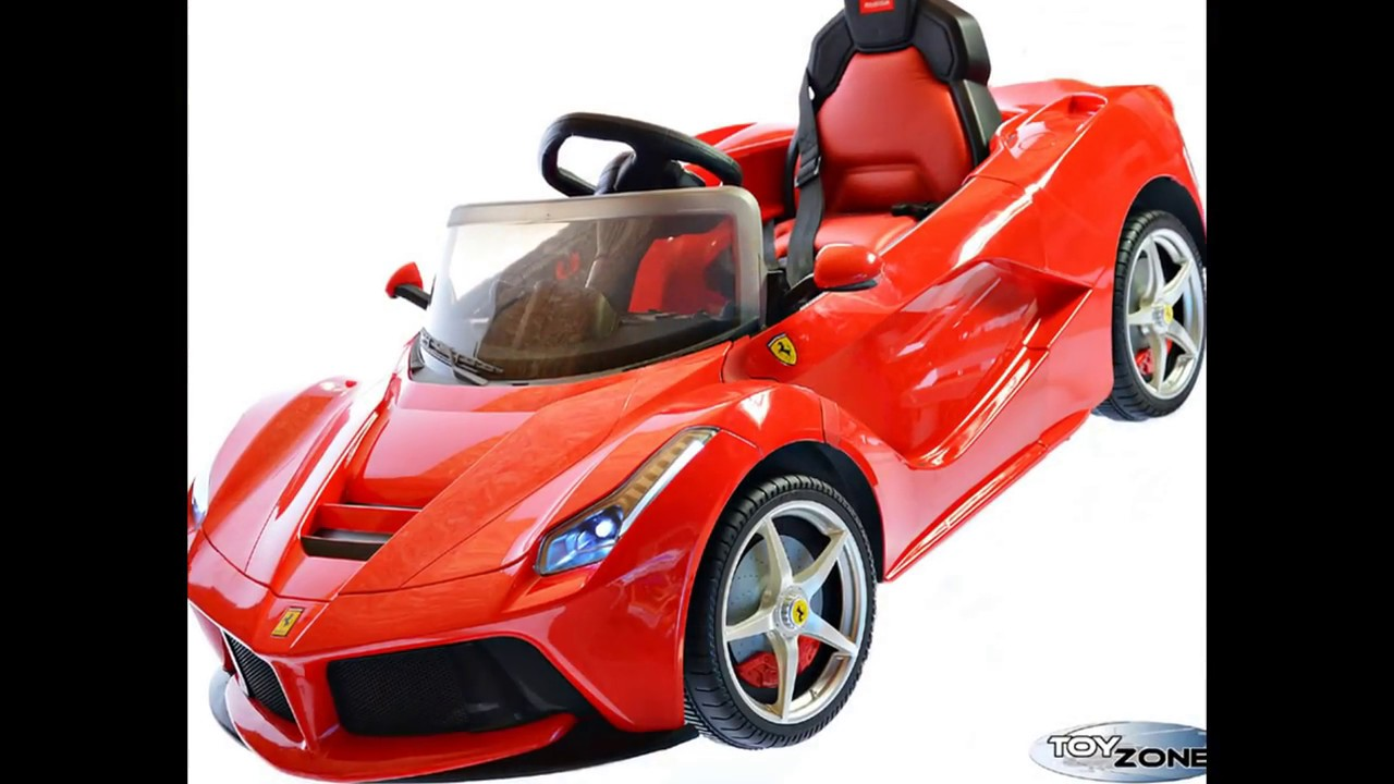 kinderfahrzeug 12v kinder elektro auto la ferrari 2 4 ghz. Black Bedroom Furniture Sets. Home Design Ideas