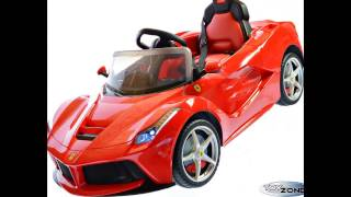 Kinderfahrzeug 12V Kinder Elektro Auto La Ferrari 2,4 GHZ RC Steuerung