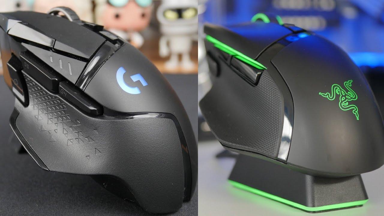 Razer Basilisk Ultimate Vs Logitech G502 Lightspeed Feature Rich Gaming Mice Youtube