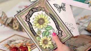 NEW Heartfelt Creations Classic Sunflower collection