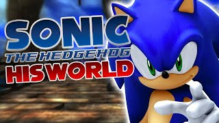 "Sonic The Hedgehog (2006) - ""His World"" (NateWantsToBattle Cover)"