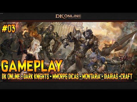 DK ONLINE #03 DARK KNIGHTS - MMORPG - DICAS - LANÇAMENTO OFICIAL GAMEPLAY PT BR