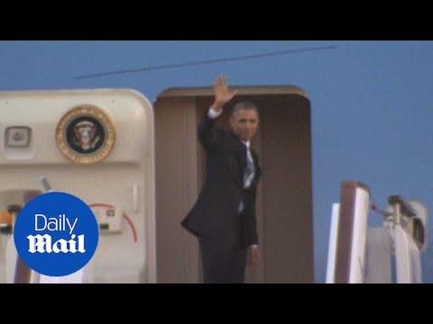 U.S. President Barack Obama leaves Beijing - Daily Mail