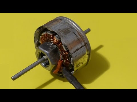 Homemade brushless outrunner electric motor bldc dc youtube for How to make a brushless dc motor