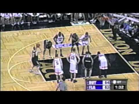 2000 NCAA Tournament (Mike Miller Epic Buzzer Beater) R-64: Florida Gators vs. Butler Bulldogs