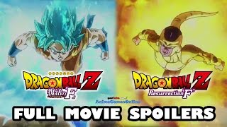 Dragon Ball Z Resurrection F Full Movie & Ending Spoilers [2015 Movie Fukkatsu no F]
