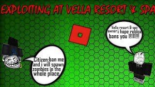 Roblox Exploiting - Vella Hotel