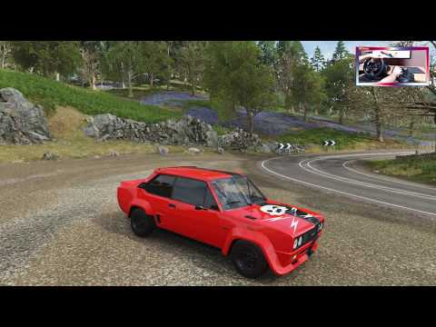 Fiat 131 Abarth Rally 1980 | Forza Horizon 4 | JMGamer