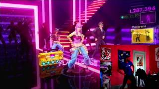 """Macarena (Bayside Boys Mix)"" (Hard) Dance Central 3 gameplay"