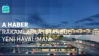A Haber - Rakamlarla İstanbul Yeni Havalimanı - Dünyanın en büyük havalimanı İGA, 32 milyar euro'luk yatırım bedeli ile Türkiye'nin en büyük projesi!