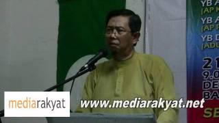 Nizar Jamaluddin: DAP, Keadilan & PAS Are Not Racists