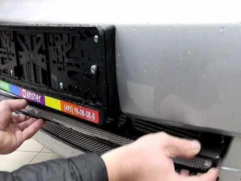 Защита радиатора на Nissan Teana 2 (Ниссан Тиана 2) 2008-2014 г.в.из YouTube · Длительность: 58 с
