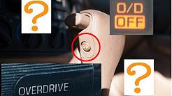 What Does OVERDRIVE Button Do (O/D light Off Toyota Ford Nissan Honda Dodge Hyundai Kia Chevy GM car