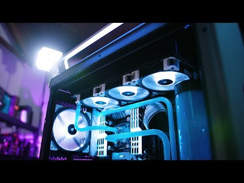 Watercooled and Overclocked 7960X in Cosmos C700P