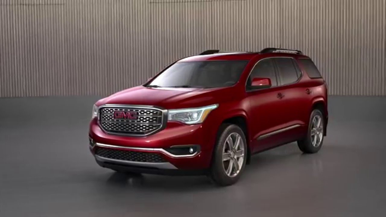 All New 2017 GMC Acadia Denali   YouTube YouTube Premium