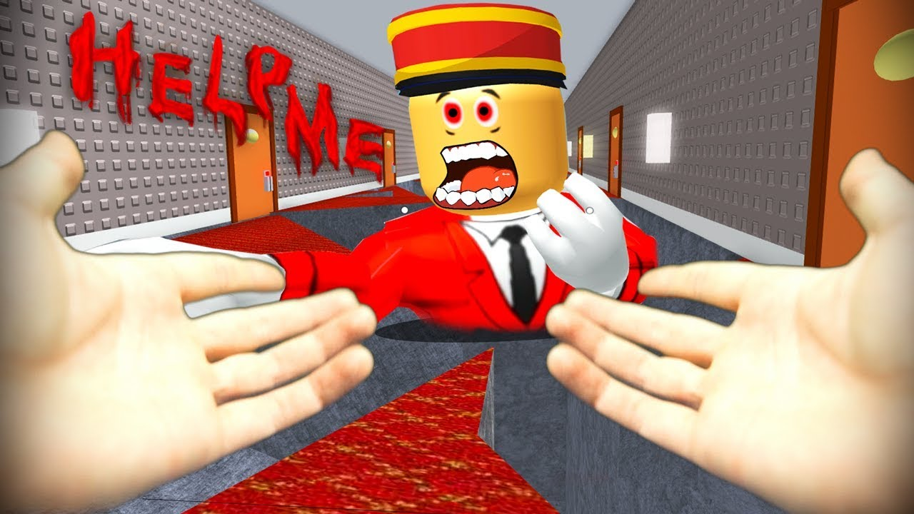 Realistic Roblox Escape The Hotel And Evil Manager Obby
