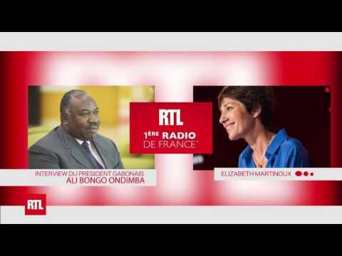 07 09 2016 INTERVIEW DU PRESIDENT ALI BONGO ONDIMBA SUR  RTL