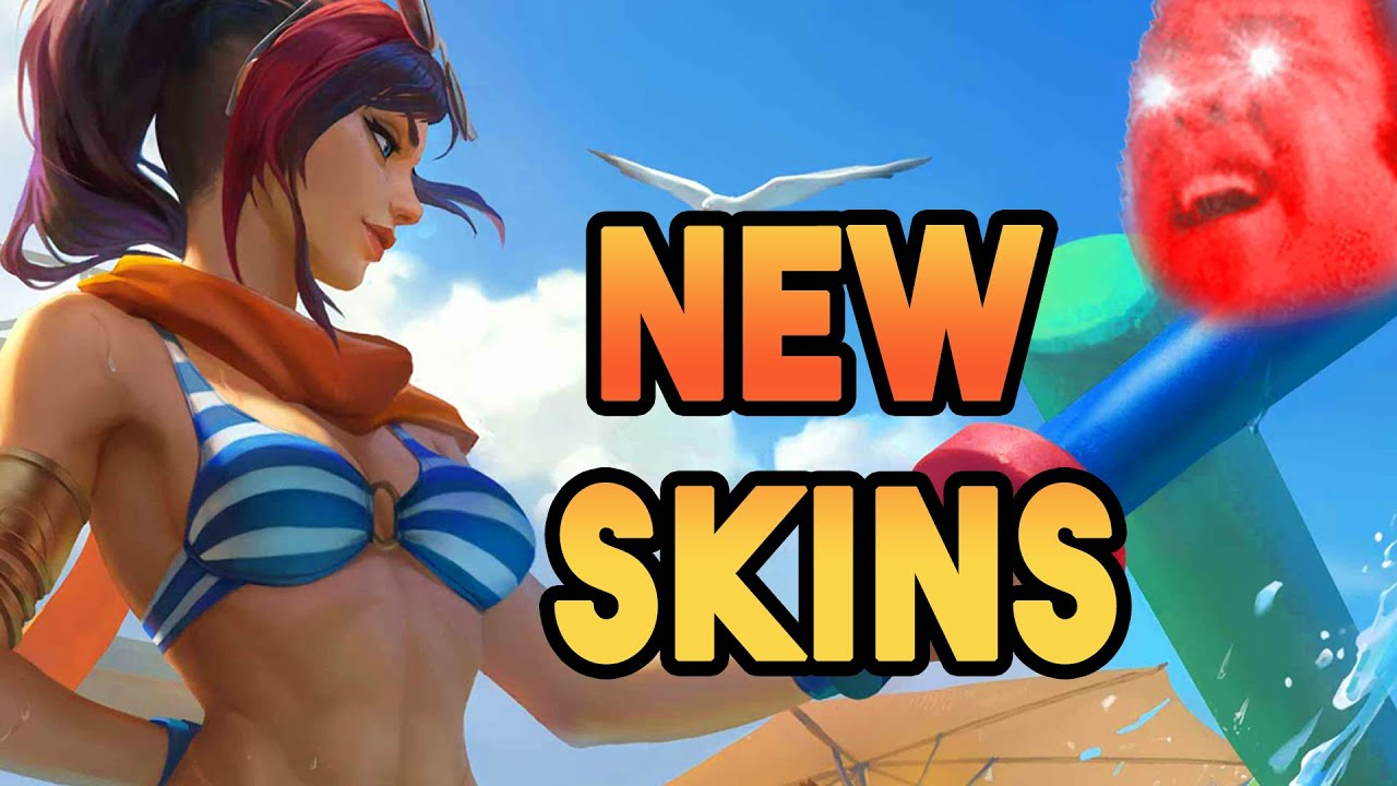 New Pool Party Event Champion Skins!   Patch 2.10. Notes   Legends of Runeterra (LoR)