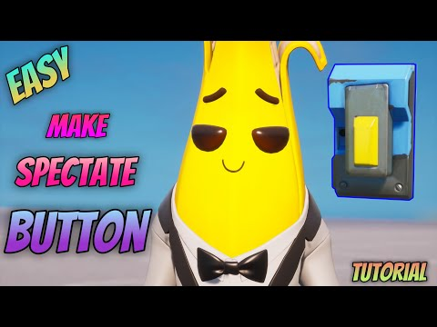 How To Make A Spectate Button In Fortnite Creative - Spectate Button [Spectator Mode]