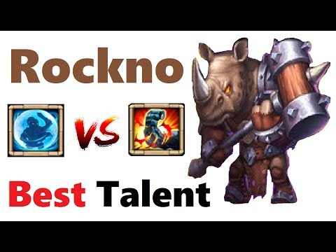 Rockno: Bulwark Vs Stone Skin Ultimate Test Best Talent Castle Clash
