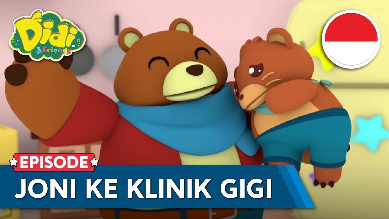 Johny Johny | Joni Ke Klinik Gigi | Cerita & Lagu Anak-Anak Indonesia | Didi & Friends Indonesia