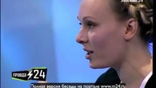Шпагат Ольги Ломоносовой