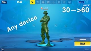 How to get 60 FPS on ANY fortnite mobile IOS device!