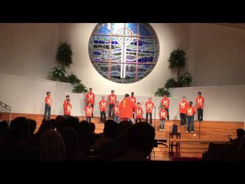 Murchison Middle School 6th Grade Boys' Choir: A Fall Concert--What the World Needs Now