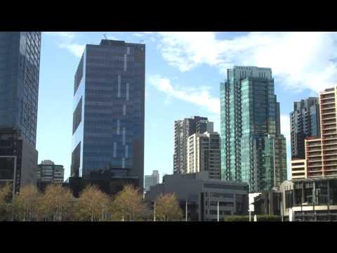 Urban skyline shots of Melbourne, Australia'a incredible modern architecture