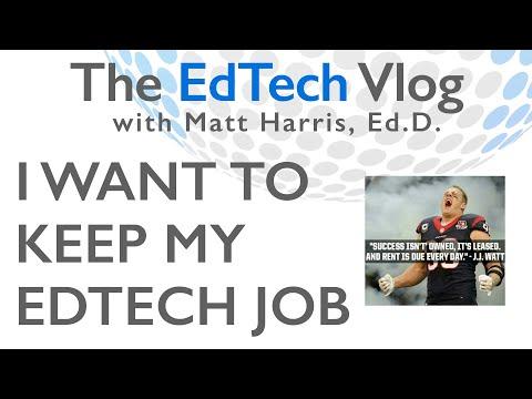 I Want to Keep My EdTech Job