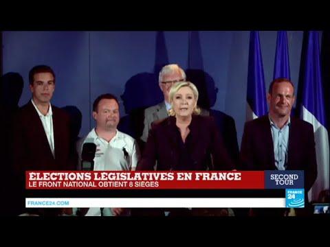 """REPLAY - Discours de Marine Le Pen, présidente du Front National """"seule force de résistance"""""""