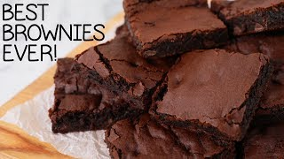 The Best Brownie Recipe EVER! (vegan!)
