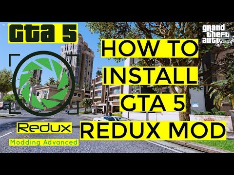 GTA V REDUX WITHOUT RESHADE - Resident Evil 2 GAME MOD HDR