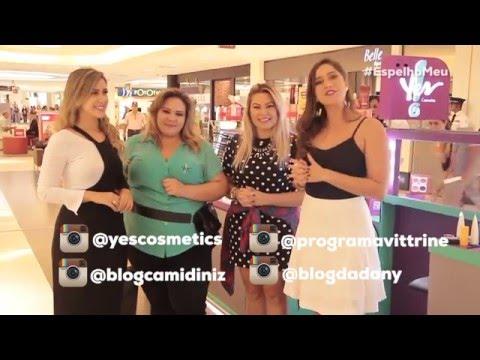 Programa Vittrine com Yes! e Cami Diniz - parte 2 ...